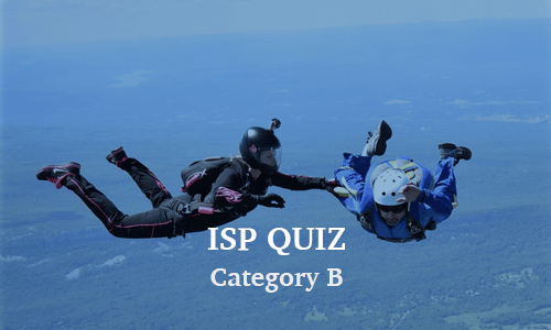 ISP Category B Quiz
