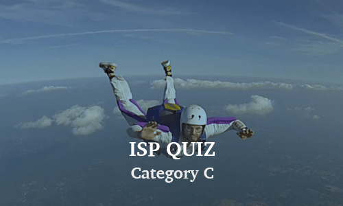 ISP Category C Quiz