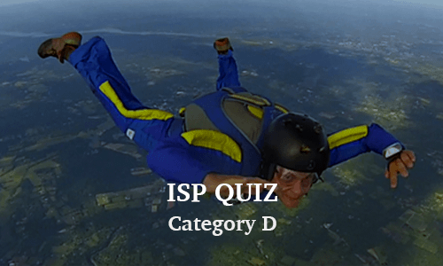 ISP Category D Quiz