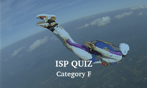 ISP Category F Quiz