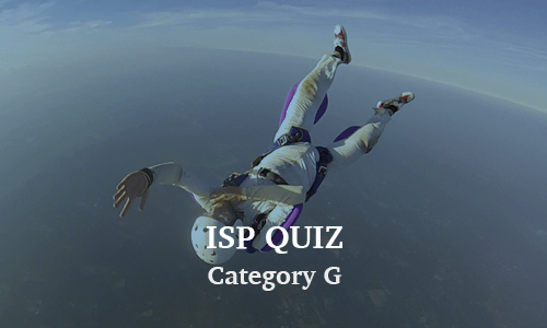 ISP Category G Quiz