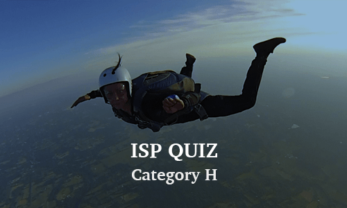 ISP Category H Quiz