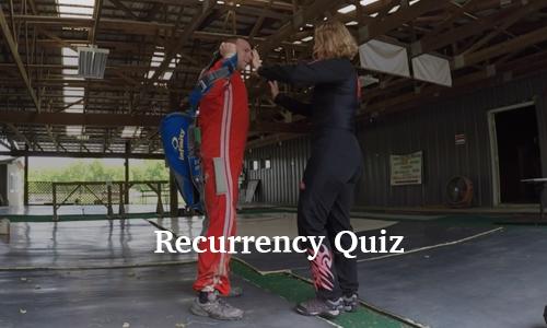 Recurrency Quiz